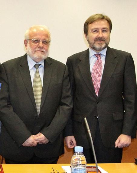 Reunión del presidente de la Comisión Islámica de España con el Director General D. Javier Herrera