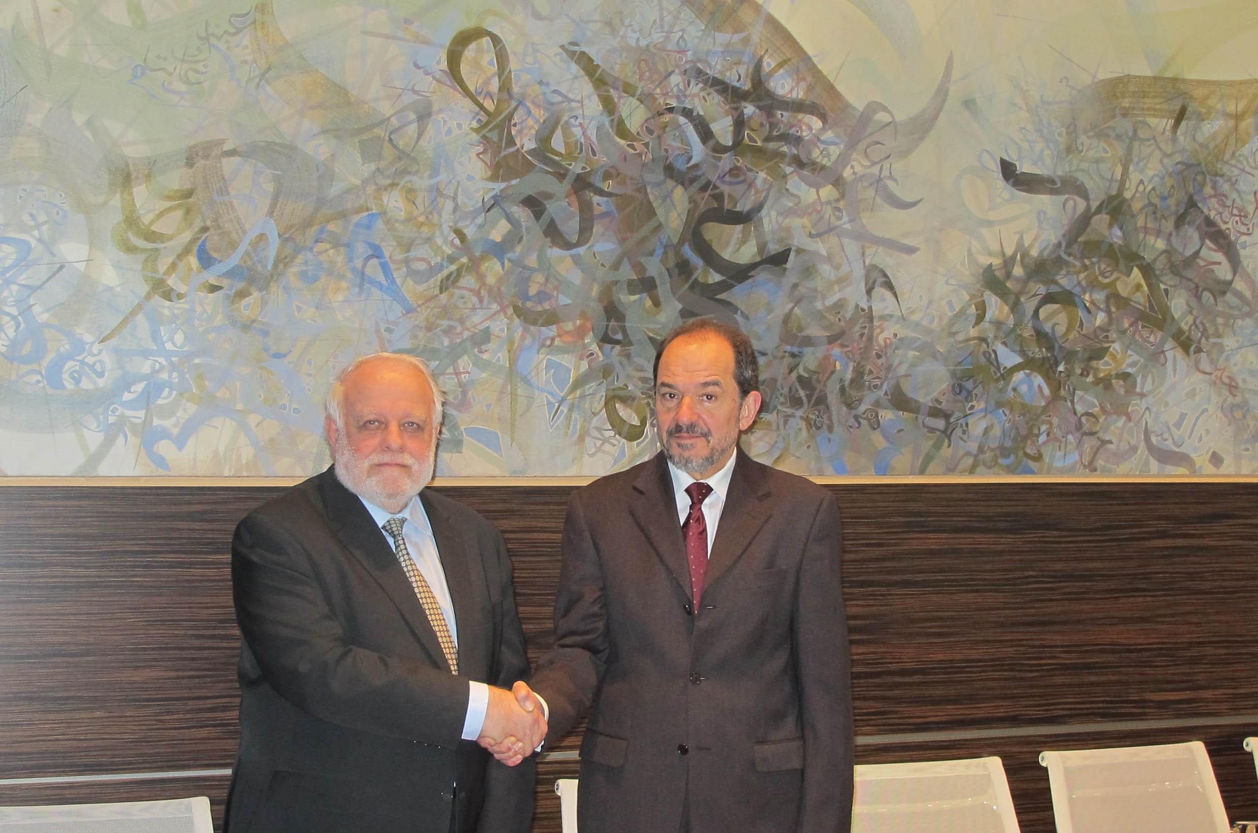Reunión del Presidente de la comisión Islámica de España con el Director General de la Casa Árabe