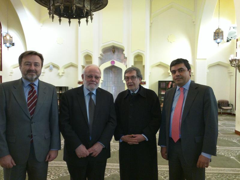 El Director General Javier Herrera García-Canturri, de visita a la Mezquita Central de Madrid