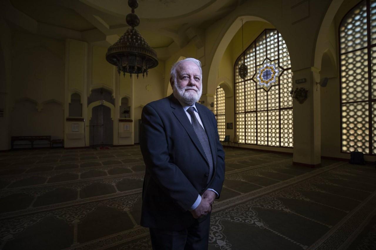 Riay Tatary, presidente de la Comisión Islámica de España en la Mezquita Central de Madrid. CARLOS ROSILLO
